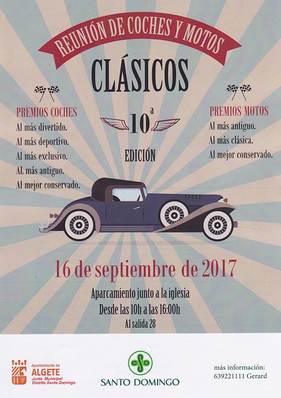 REUNIÓN DE COCHES Y MOTOS CLÁSICOS. Colaboración SkyOnline.