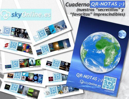 QR-NOTAS ;-) de SkyOnline (solo 09,95€, envio postal incluido) (últimas unidades)
